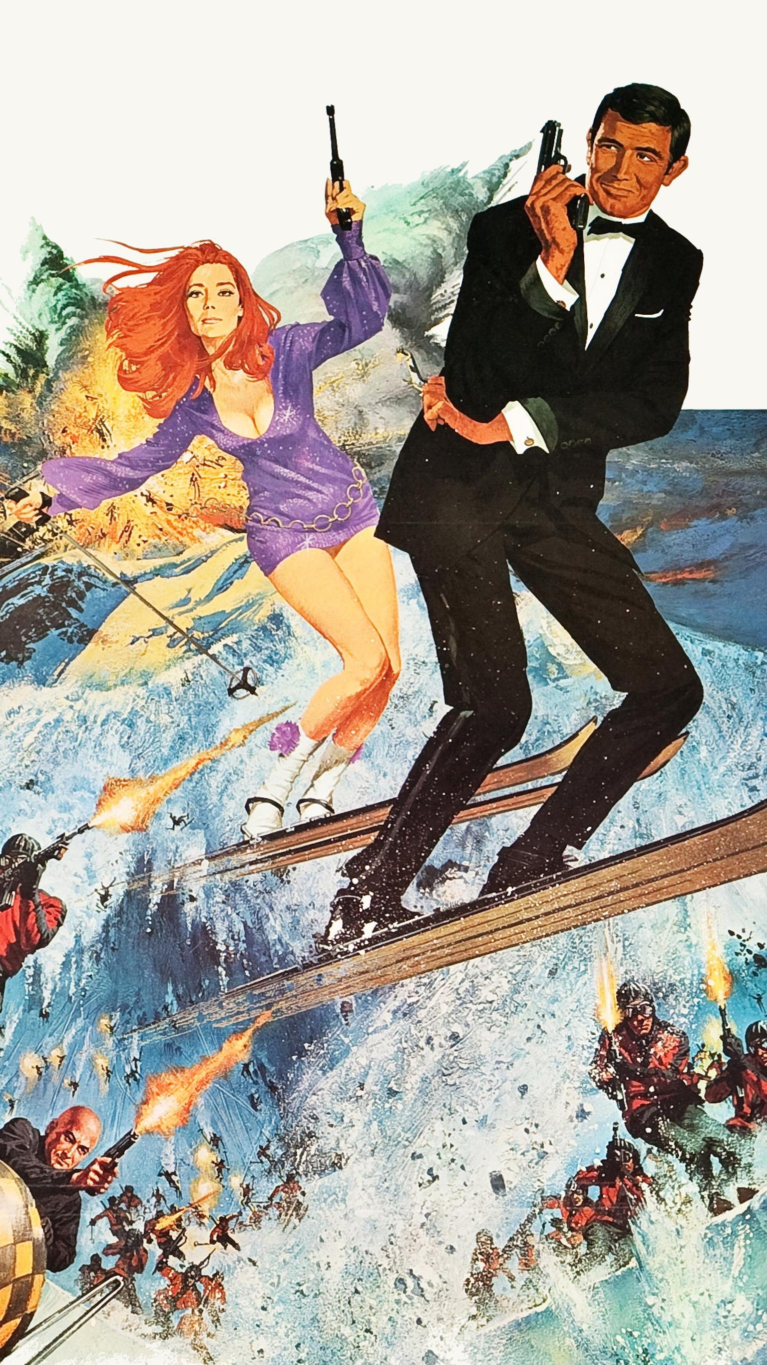 "Wallpaper for ""On Her Majesty's Secret Service"" (1969)"