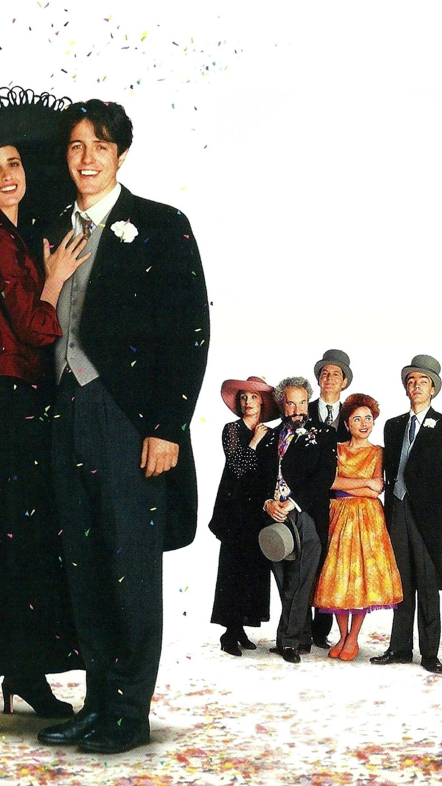 "Wallpaper for ""Four Weddings and a Funeral"" (1994)"