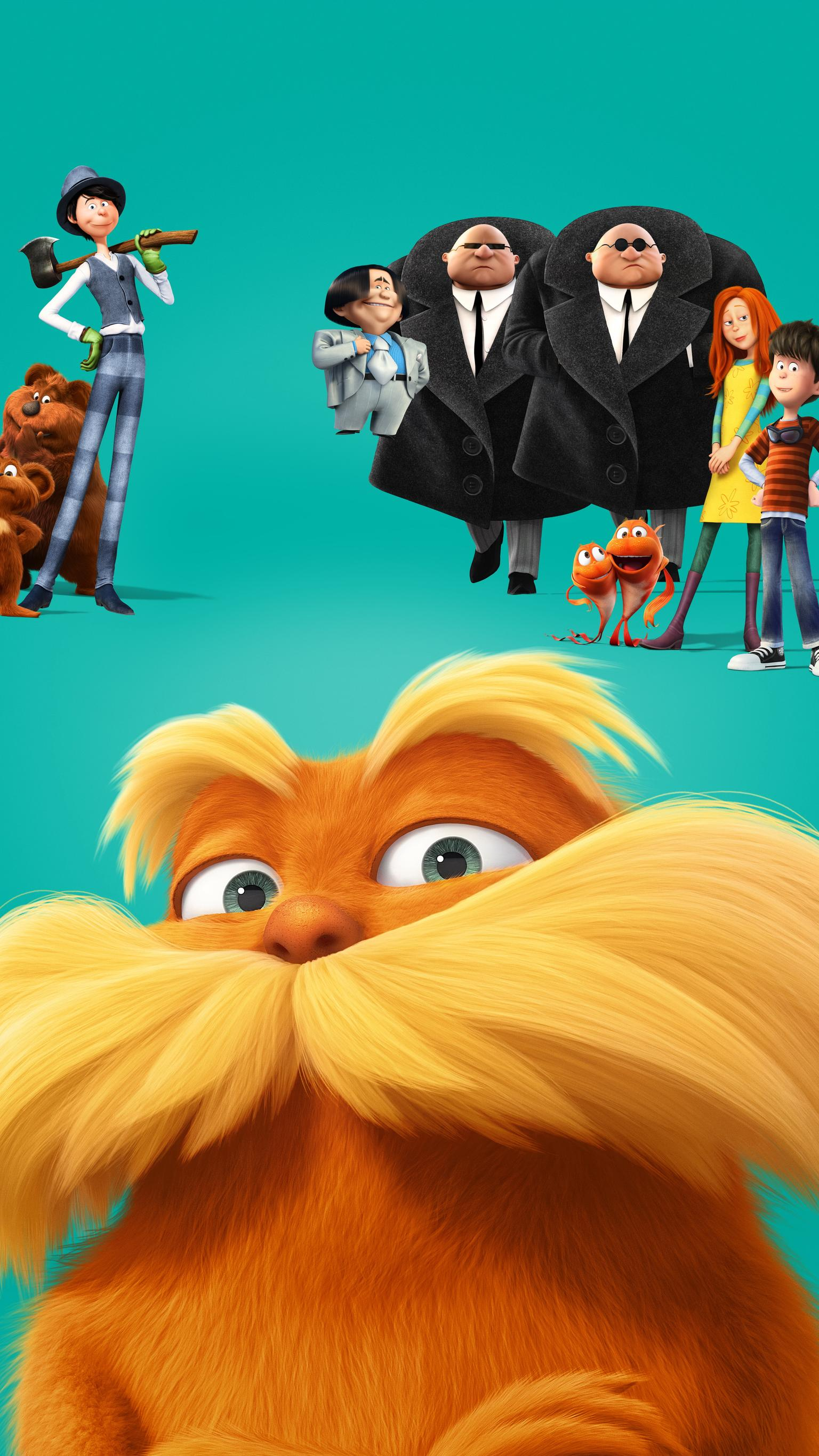 "Wallpaper for ""The Lorax"" (2012)"