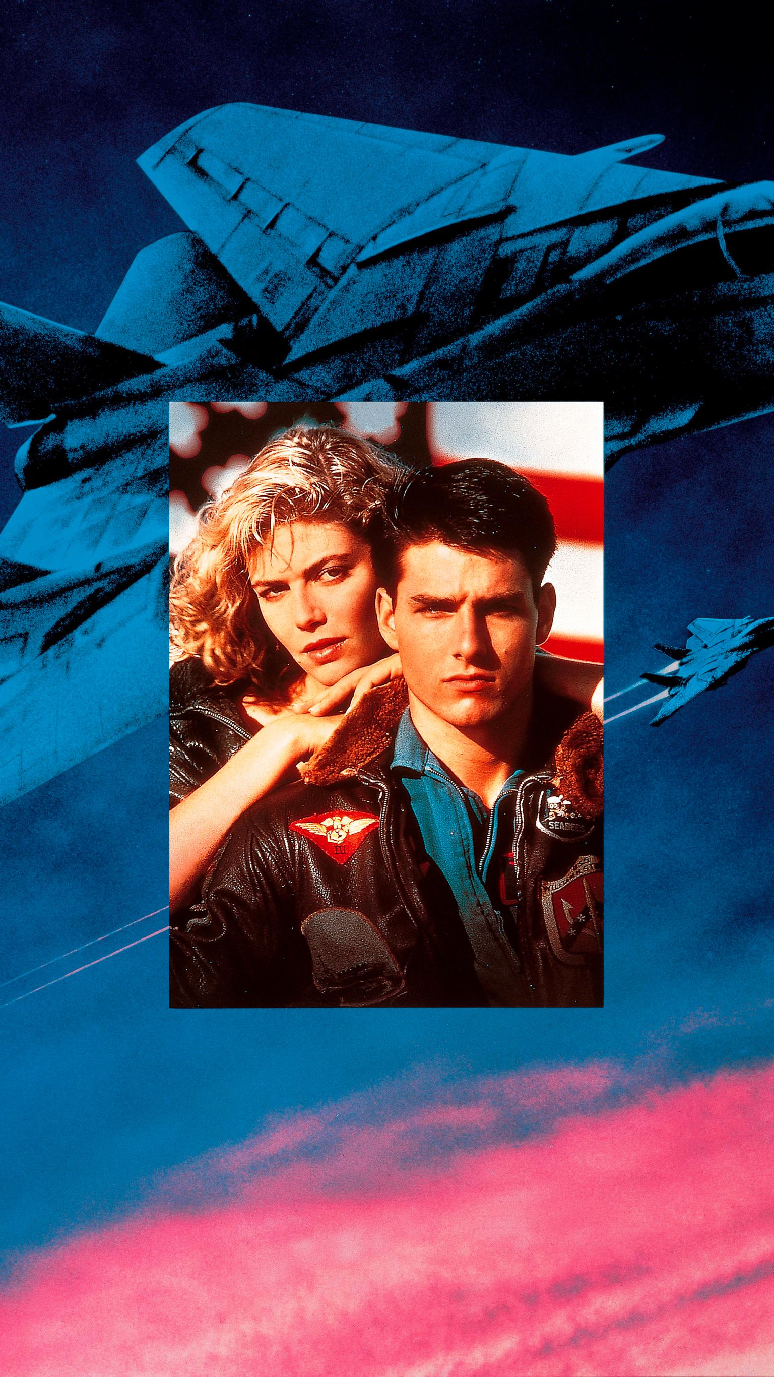 "Wallpaper for ""Top Gun"" (1986)"
