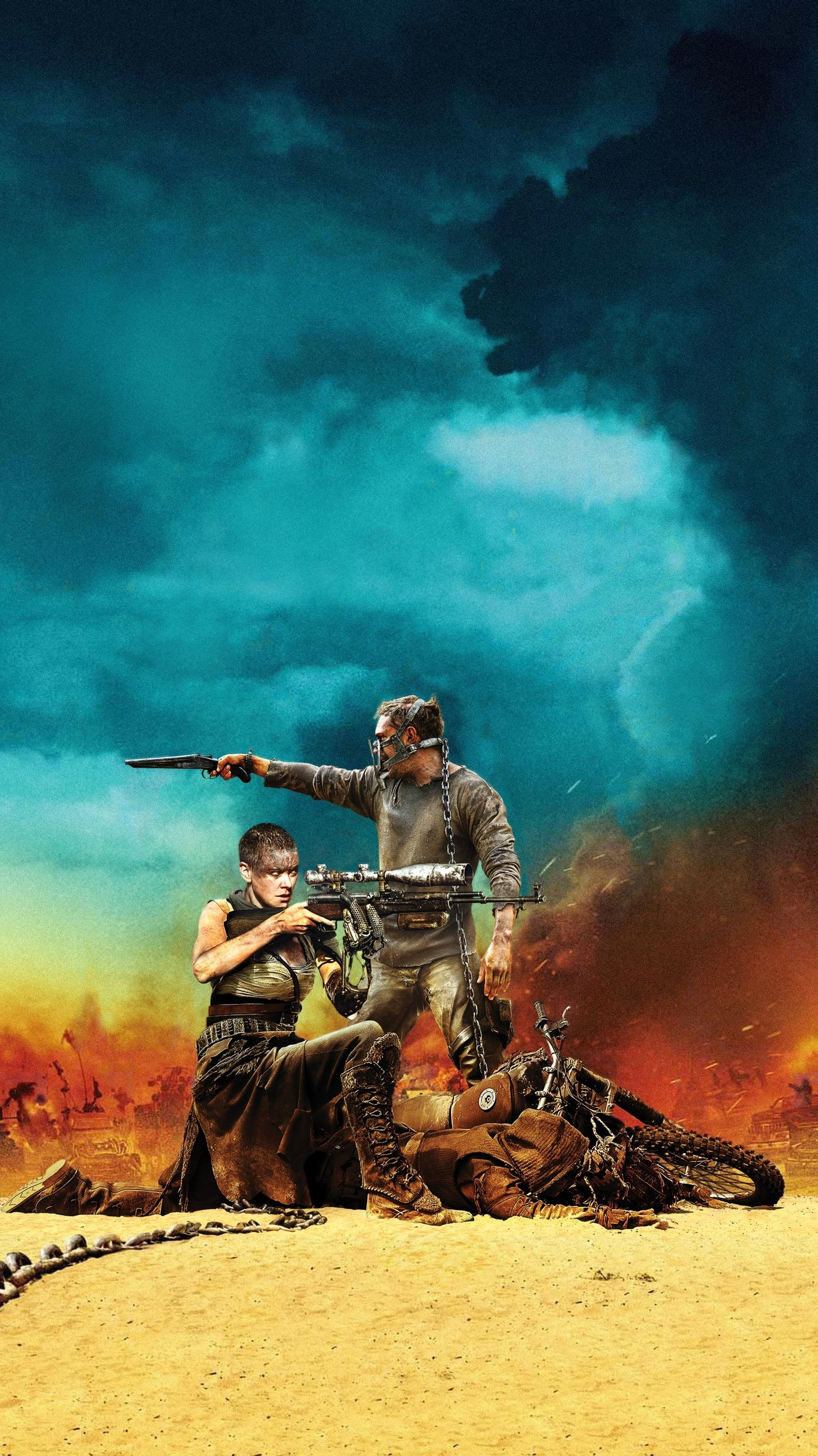 "Wallpaper for ""Mad Max: Fury Road"" (2015)"