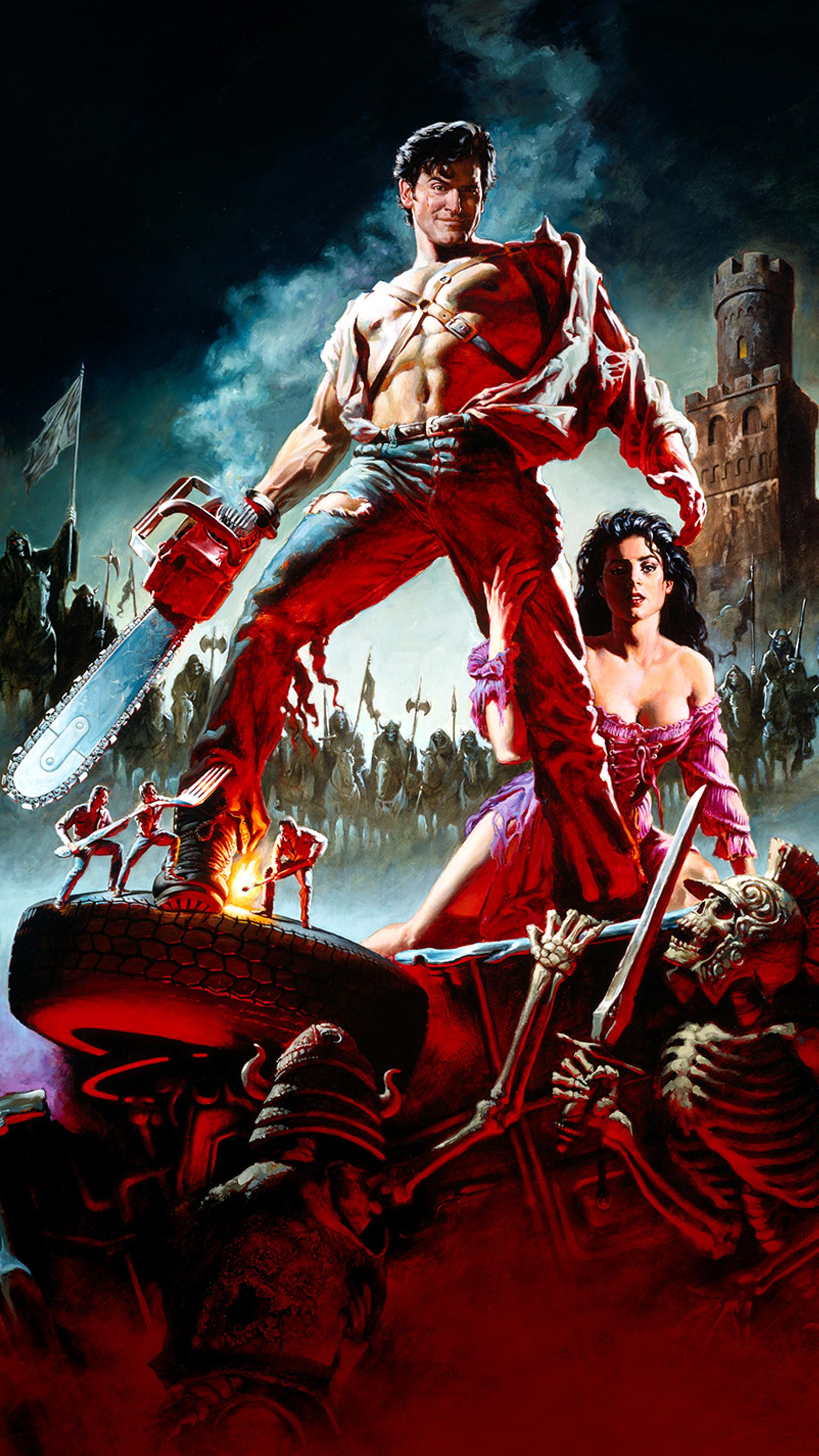 "Wallpaper for ""Army of Darkness"" (1992)"