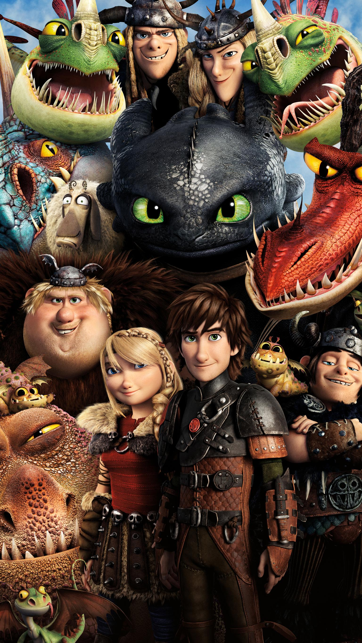 "Wallpaper for ""How to Train Your Dragon 2"" (2014)"
