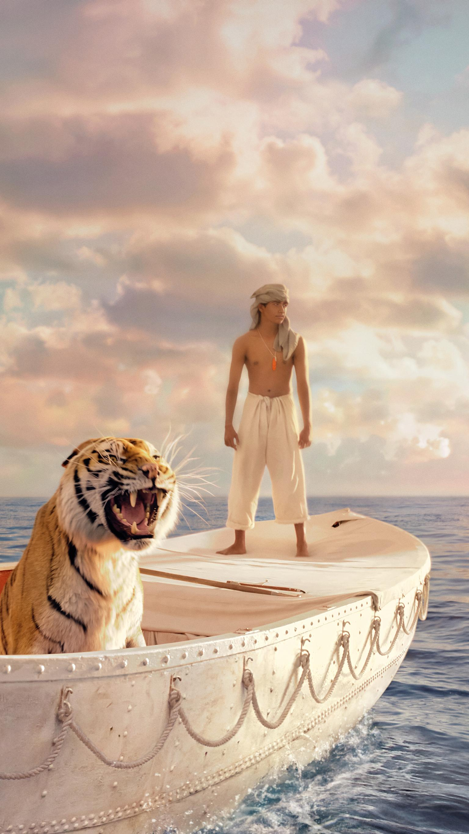 "Wallpaper for ""Life of Pi"" (2012)"