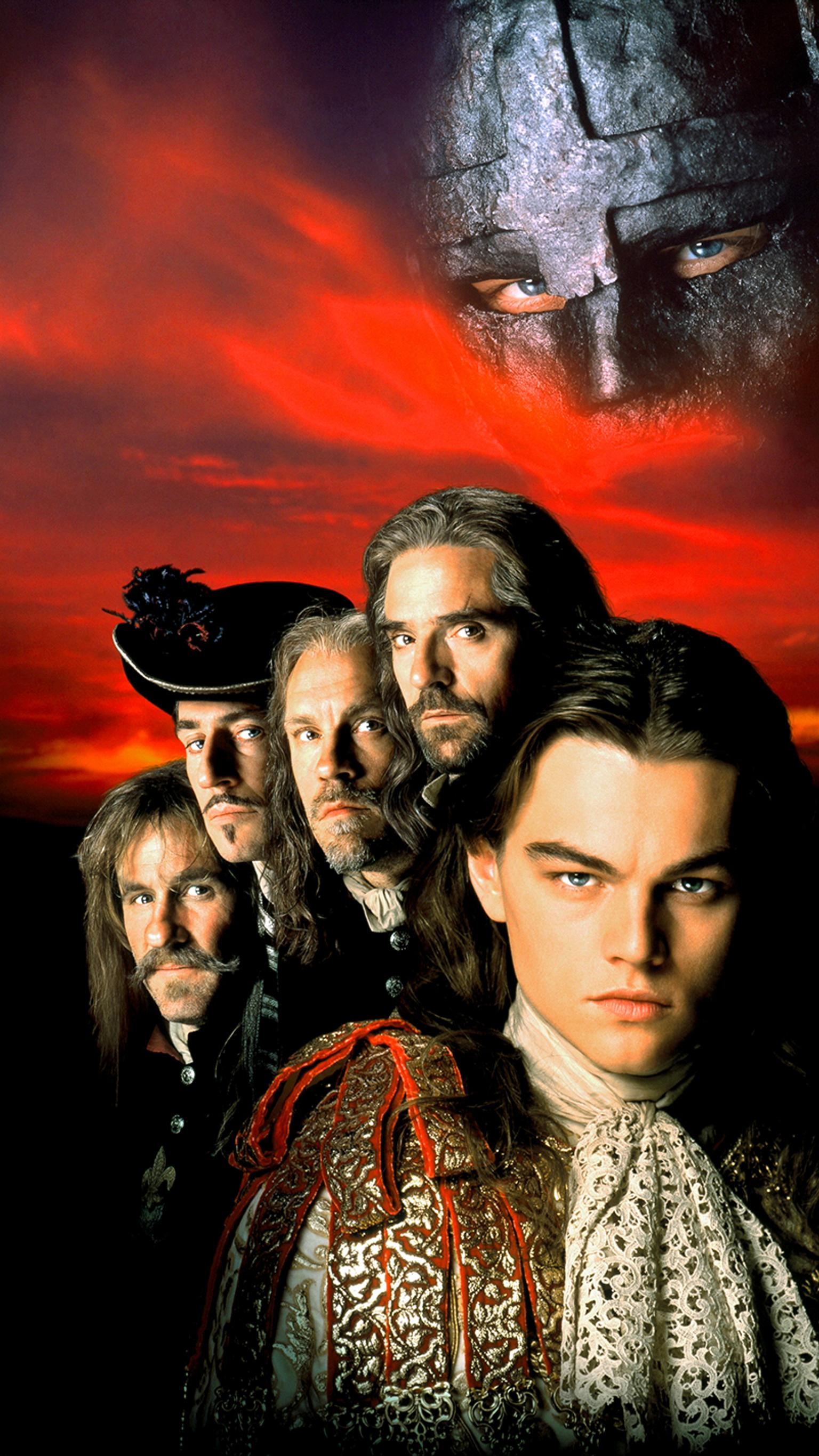 "Wallpaper for ""The Man in the Iron Mask"" (1998)"