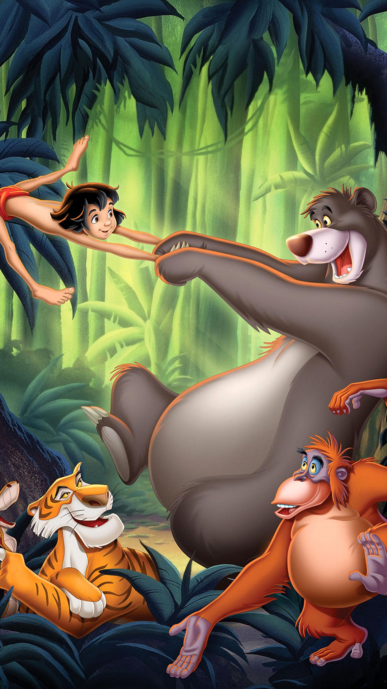 "Wallpaper for ""The Jungle Book"" (1967)"
