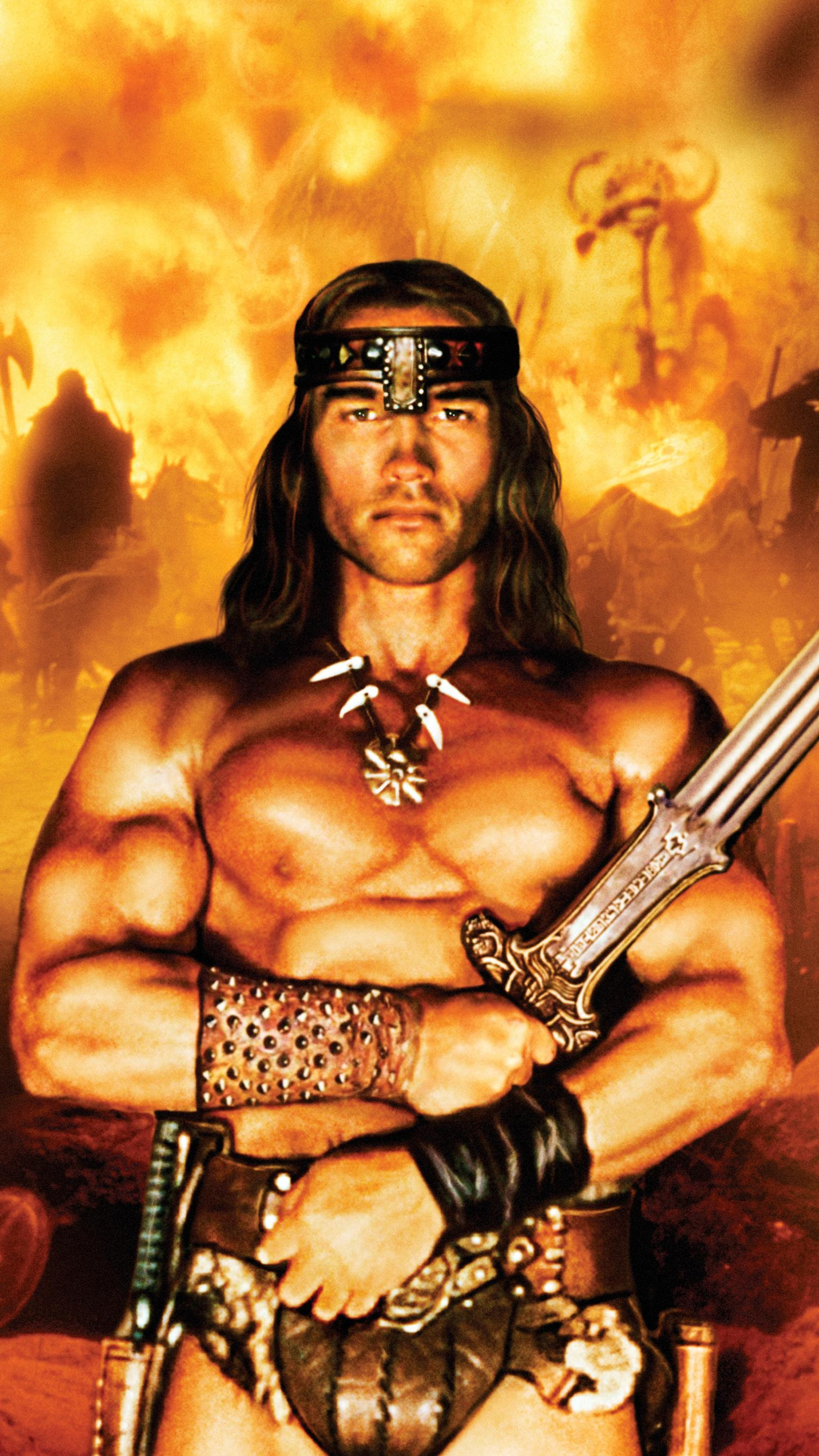 "Wallpaper for ""Conan the Barbarian"" (1982)"