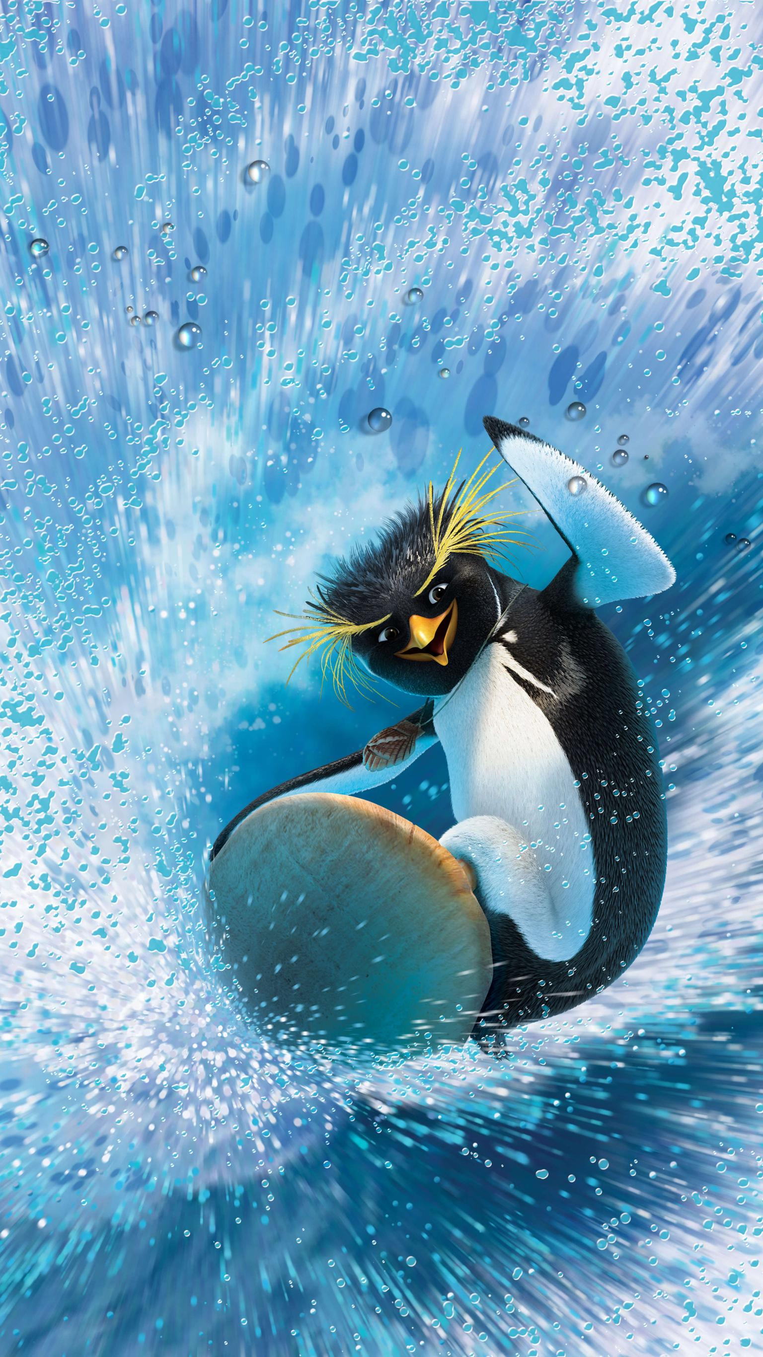 "Wallpaper for ""Surf's Up"" (2007)"