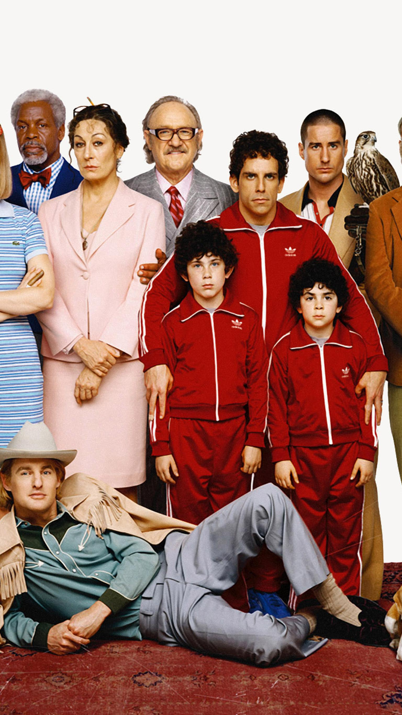 "Wallpaper for ""The Royal Tenenbaums"" (2001)"