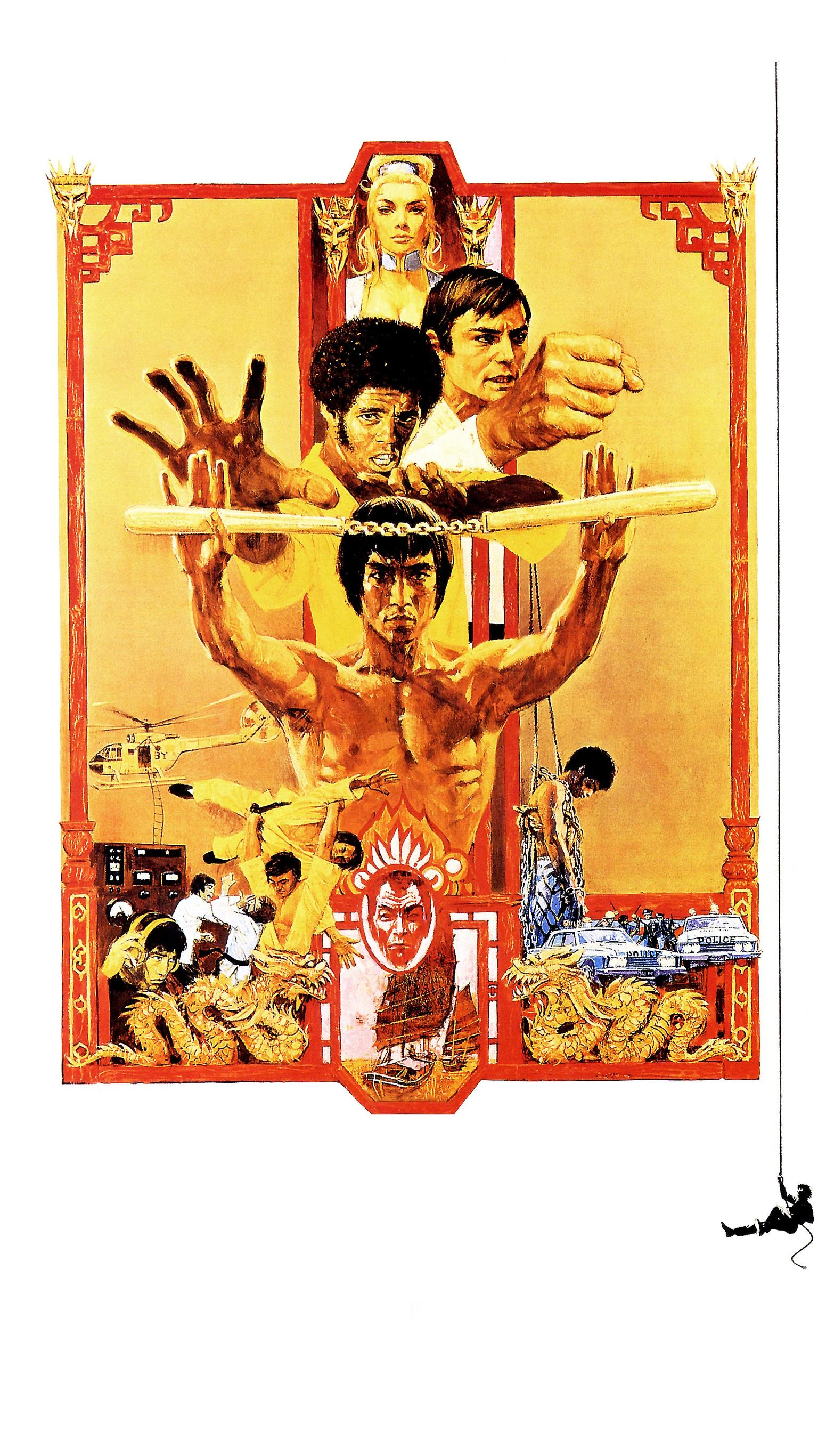 "Wallpaper for ""Enter the Dragon"" (1973)"