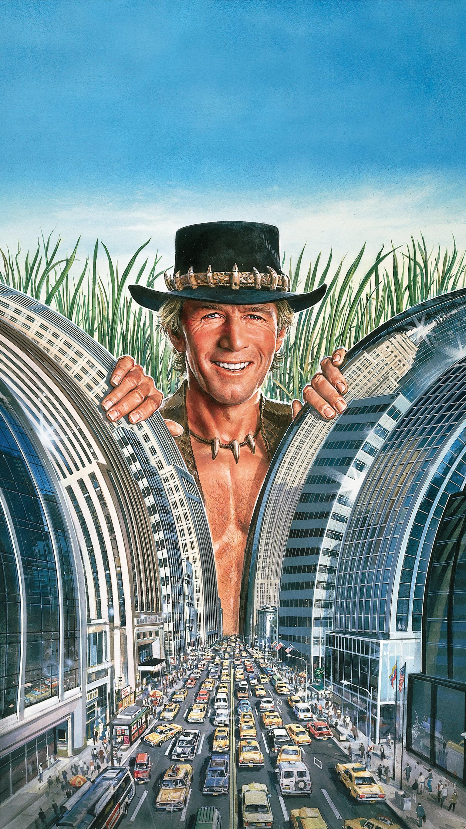 "Wallpaper for ""Crocodile Dundee"" (1986)"