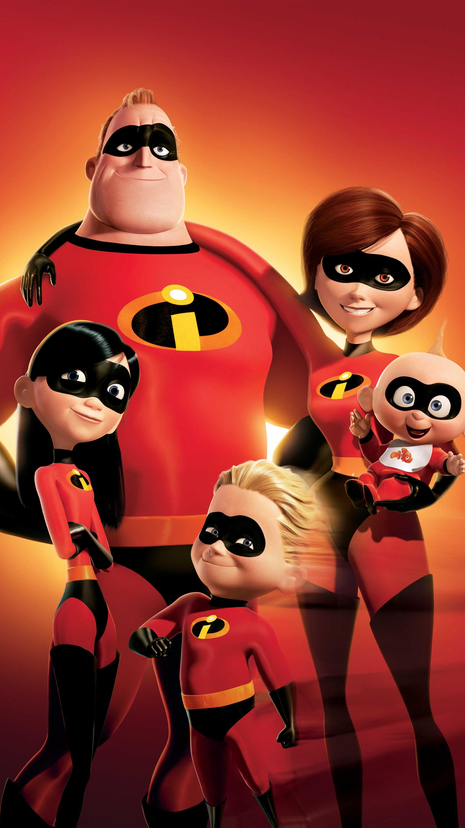 "Wallpaper for ""The Incredibles"" (2004)"