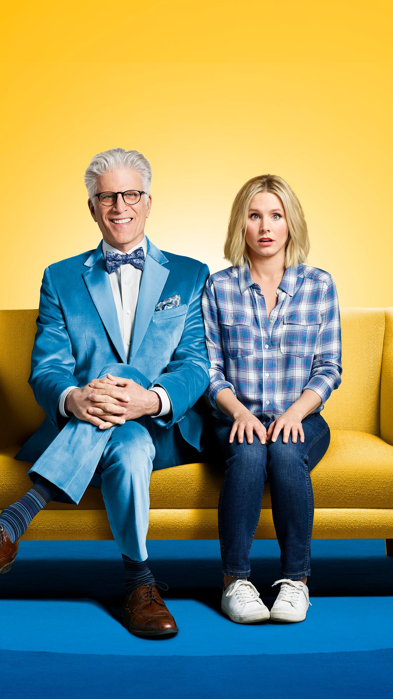 "Wallpaper for ""The Good Place"" (2020)"