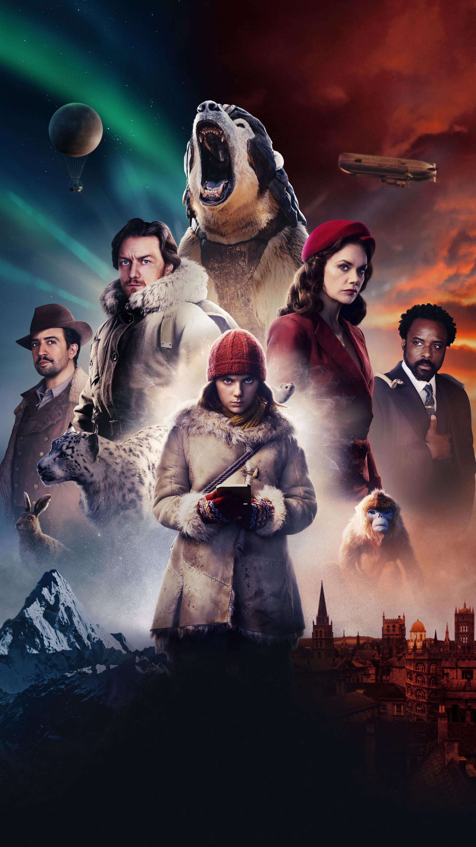 "Wallpaper for ""His Dark Materials"" (2019)"