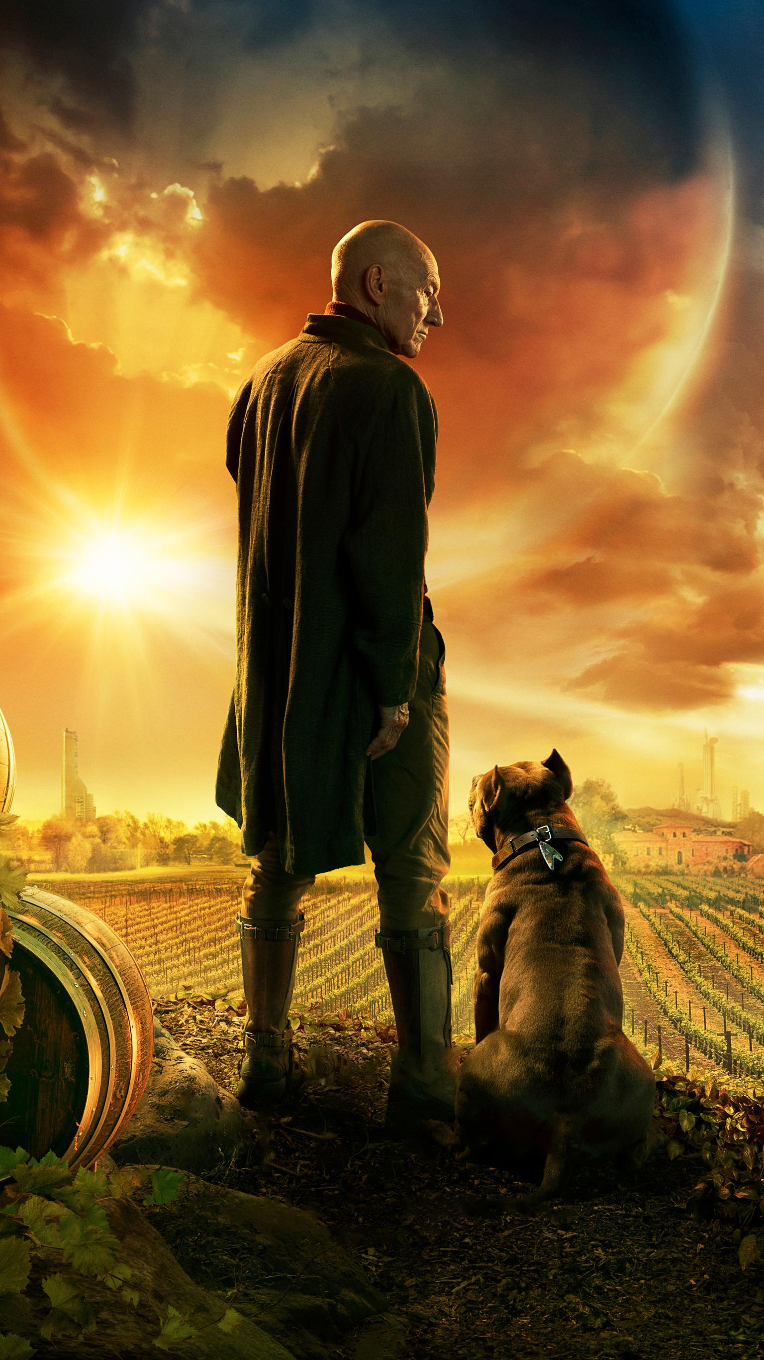 "Wallpaper for ""Star Trek: Picard"" (2020)"