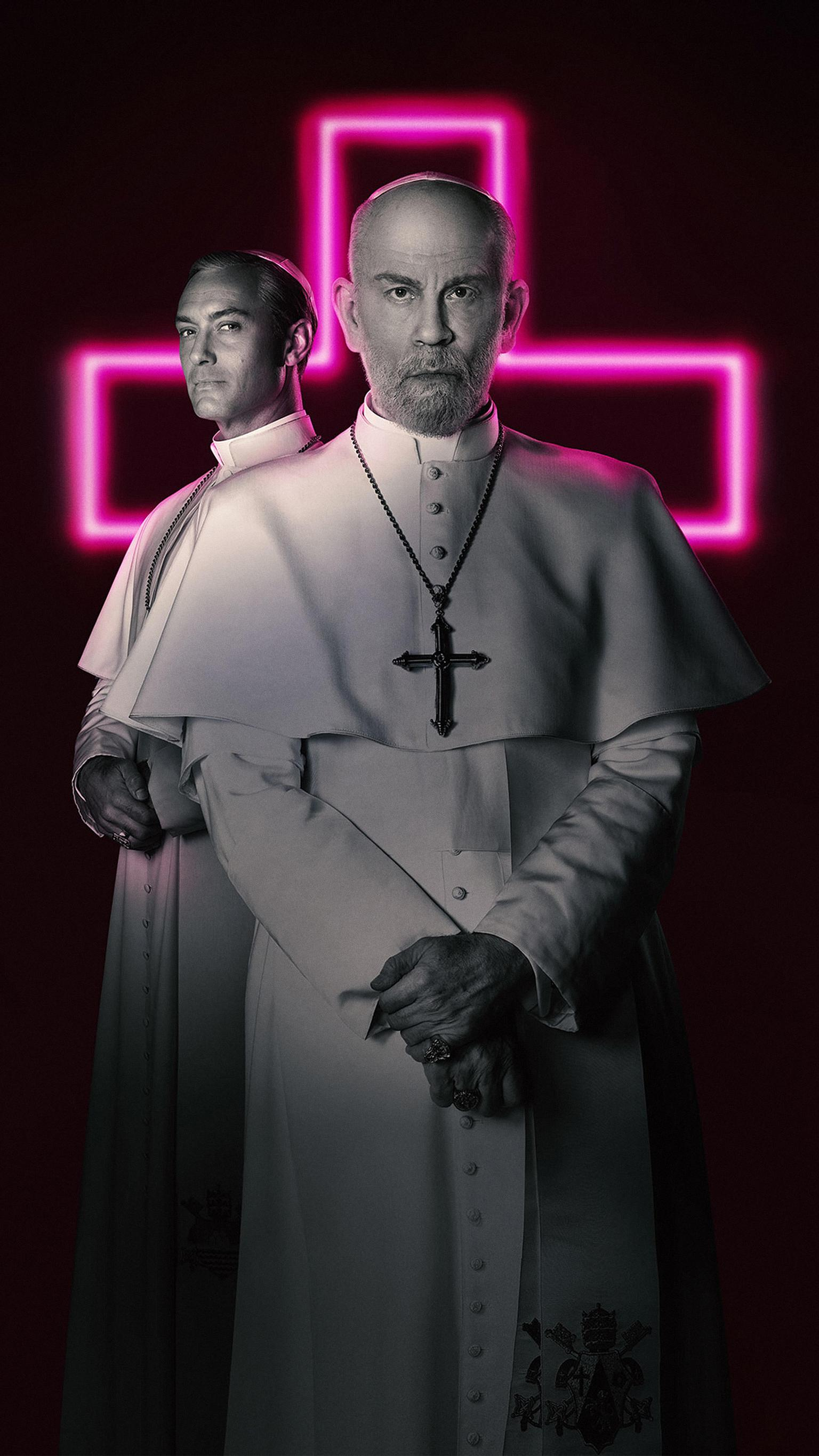 "Wallpaper for ""The New Pope"" (2020)"